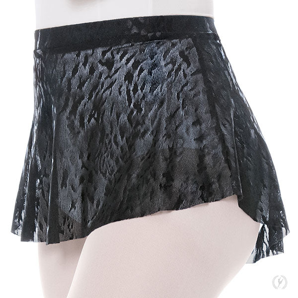 Eurotard Girl's, Impression Mesh, High Low Pull on Mini Ballet Skirt - 78121C Child
