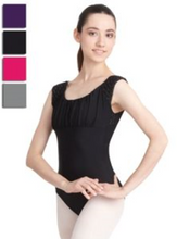 Load image into Gallery viewer, Capezio Stylish Leotard - Cap Sleeve, Open Back, Adult 10187