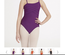 "Load image into Gallery viewer, Capezio ""Asymmetric"" Camisole Adult Leotard 10191"