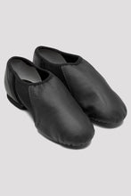 Load image into Gallery viewer, Bloch S0495L, Ladies Black Neo-Flex Slip On Leather Jazz Shoe, Adult Size