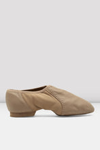 Load image into Gallery viewer, Bloch S0495L, Ladies Tan Neo-Flex Slip On Leather Jazz Shoe, Adult Size