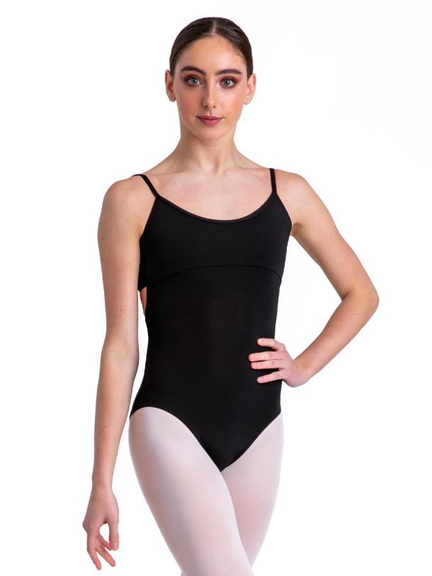 Capezio Camisole Leotard w/ Twist Back- MC102, Adult Leotard