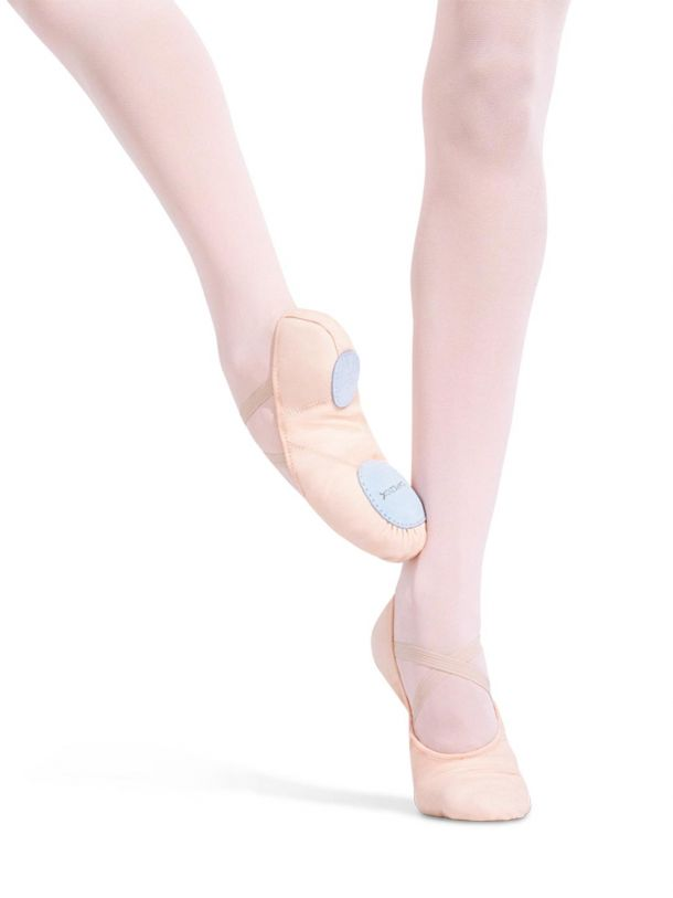 Capezio, Juliet Canvas Split Sole, Ballet Shoes, Adult Size 2028