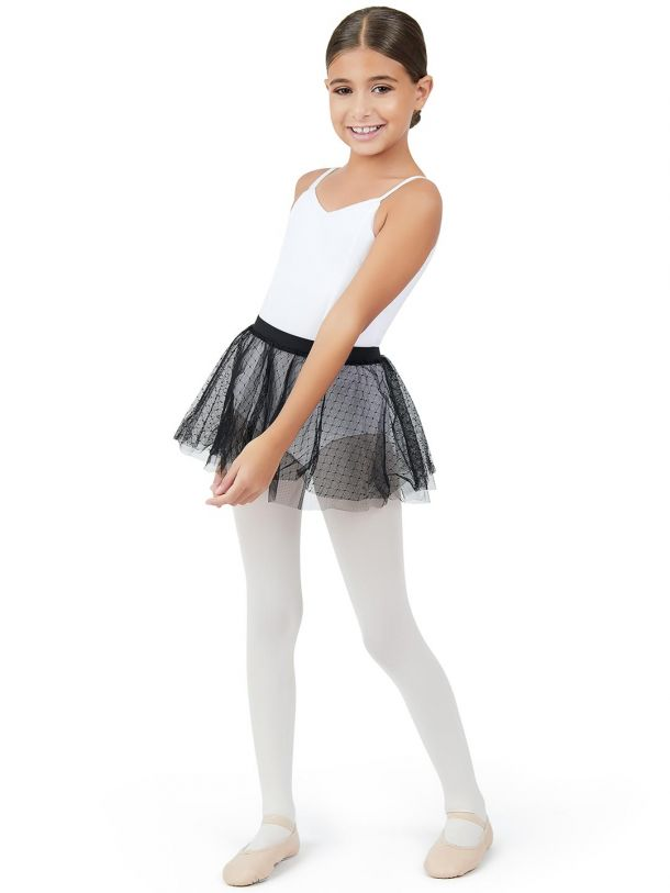 Capezio, Double Layer Pull On Skirt 11312C - Girls Skirt