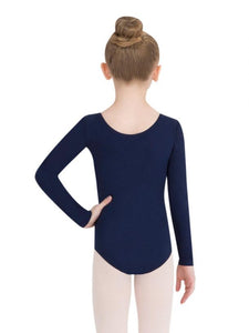 CAPEZIO Long Sleeve Leotard - Girls Size TB134C