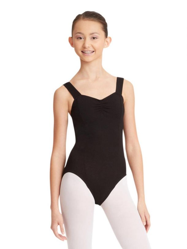 Capezio Studio Collection Wide Strap Camisole Leotard- SE1012W