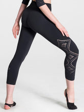 Load image into Gallery viewer, Capezio Seamless Deco Cropped Leggings