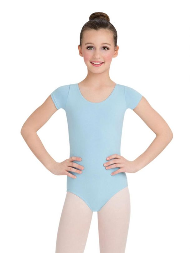 Short Sleeve Leotard - Girls, Child Leotard CC400C