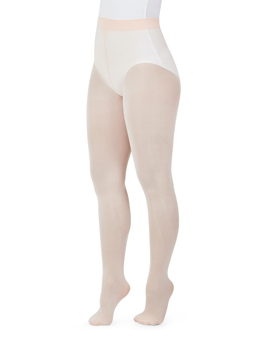 Capezio Lucky Bamboo  Transition Child Tights; Child Small Size; #N25C