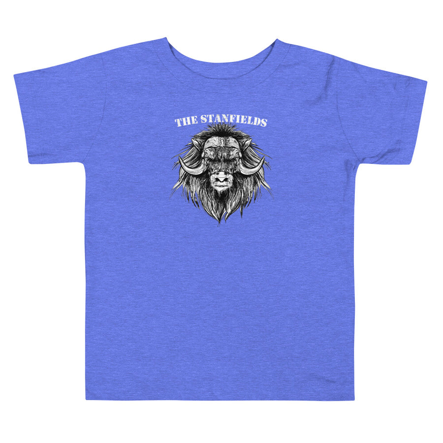 Muskox Toddler T-Shirt (Dark)