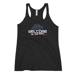 Welcome to the Ball Women's Racerback Tank