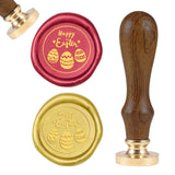 Easter Eggs Wood Handle Wax Seal Stamp