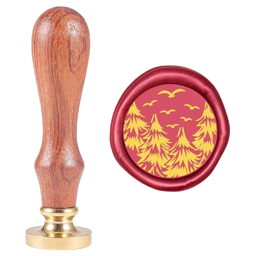 Wax Seal Stamp Pine Tree