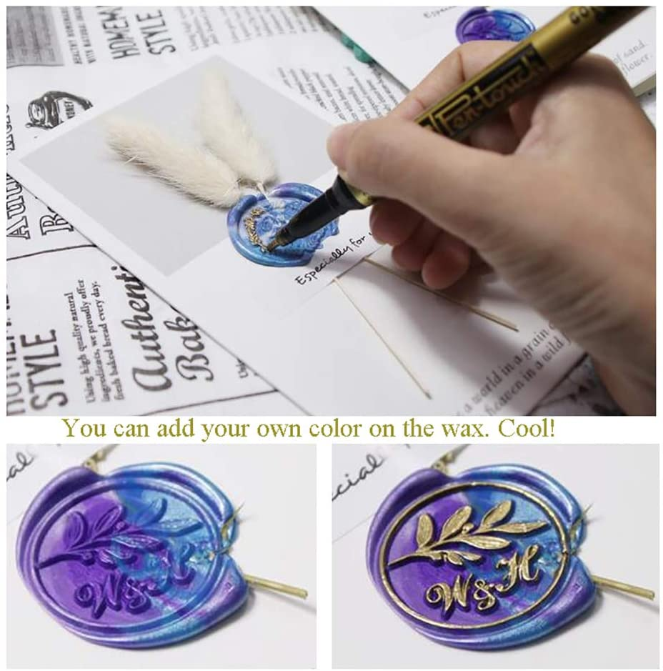 Wax Seal Stamp Butterfly Animal
