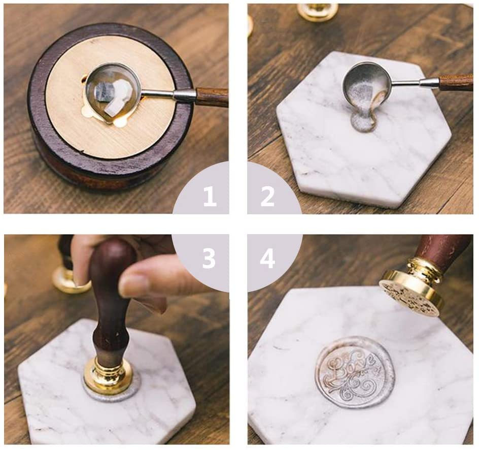 Anchor Wood Handle Wax Seal Stamp