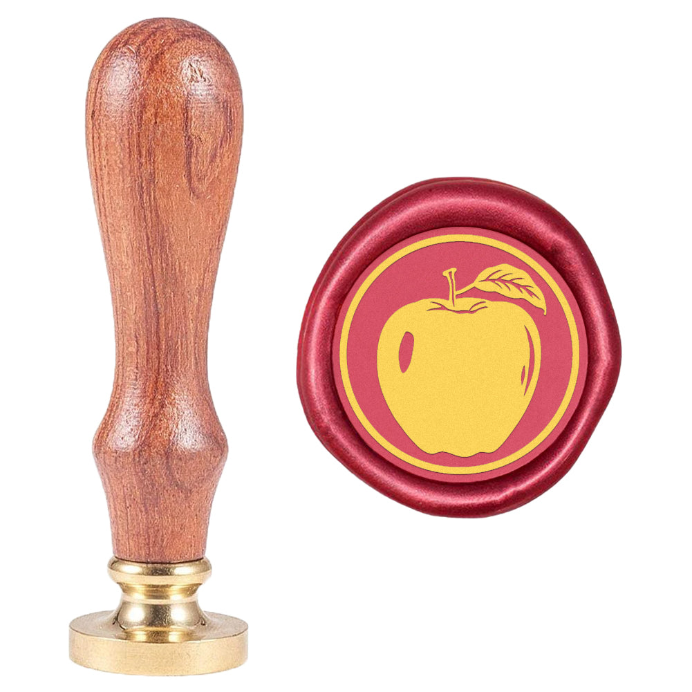 Fruit Apple Wax Seal Stamp