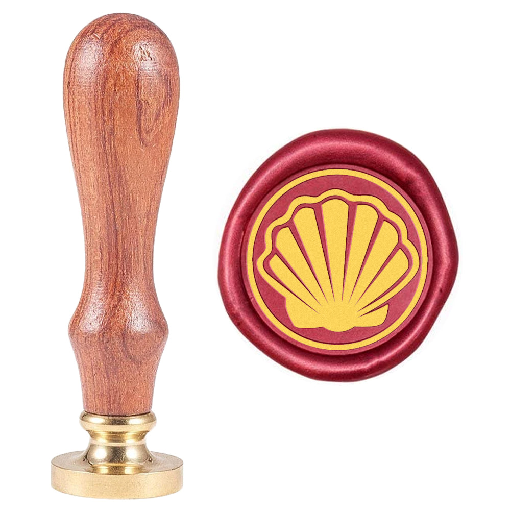 Shell Pattern Wax Seal Stamp