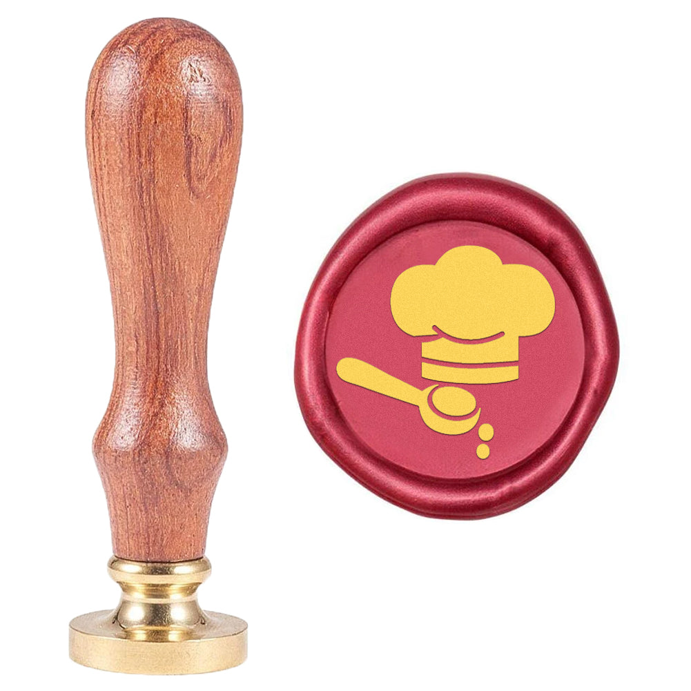 Wax Seal Stamp Chef Cap Spoon