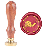 Snail Pattern Wax Seal Stamp