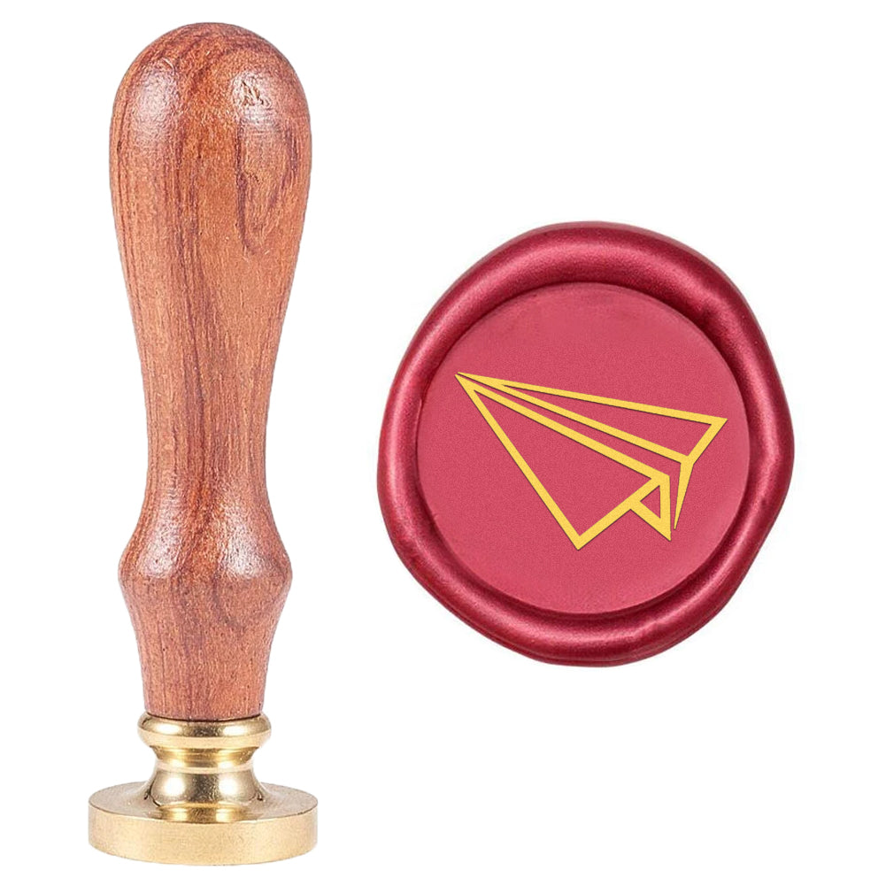 Paper Airplane Wax Seal Stamp