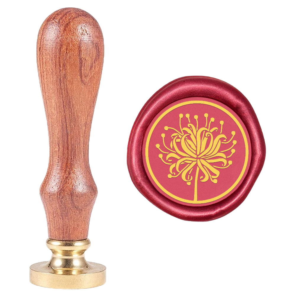 Higan Bana Pattern Wax Seal Stamp