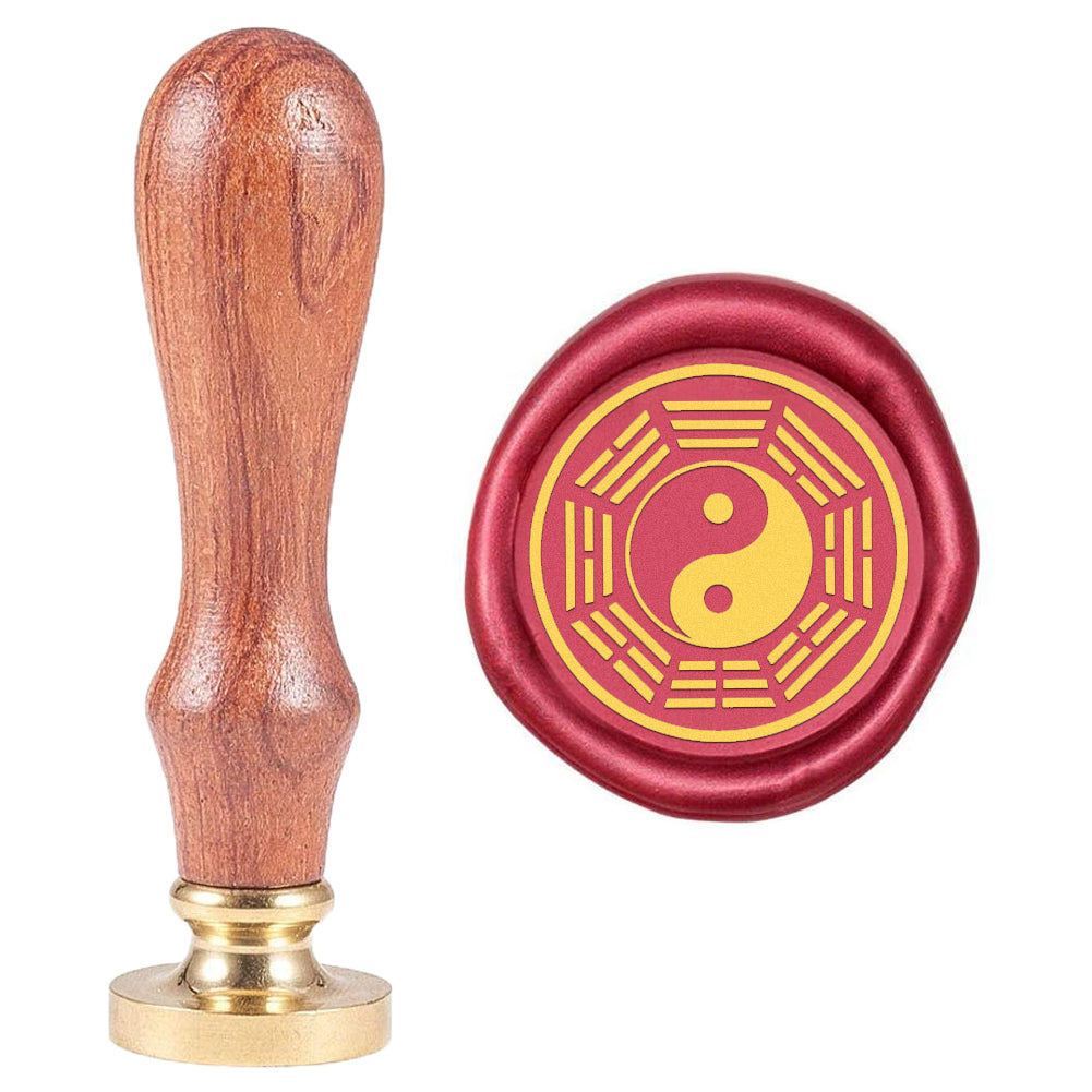 Eight-Diagram-Shaped Appetizer Pattern Wax Seal Stamp