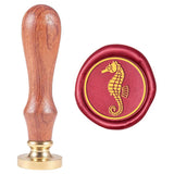 Sea Horse Pattern Wax Seal Stamp
