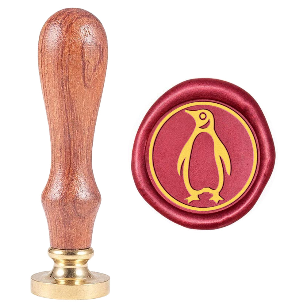Penguin Pattern Wax Seal Stamp