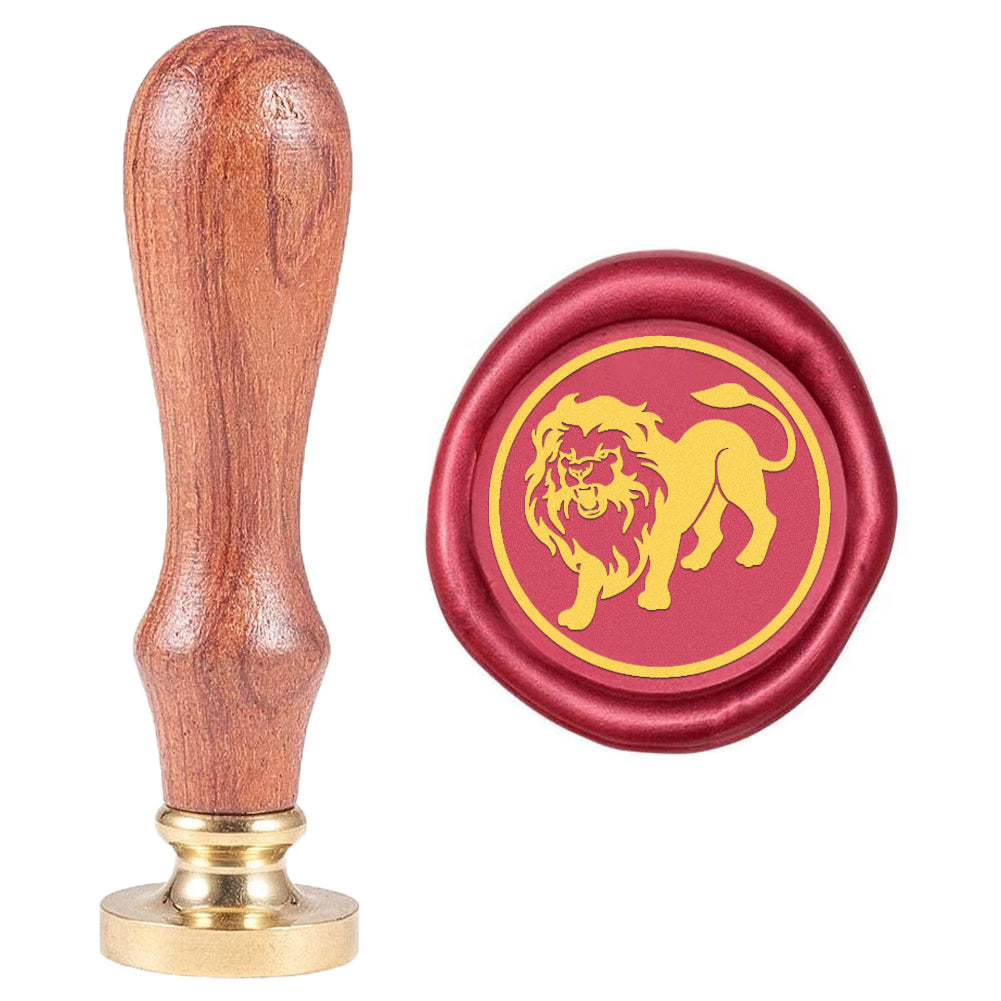 Leo Pattern Wax Seal Stamp