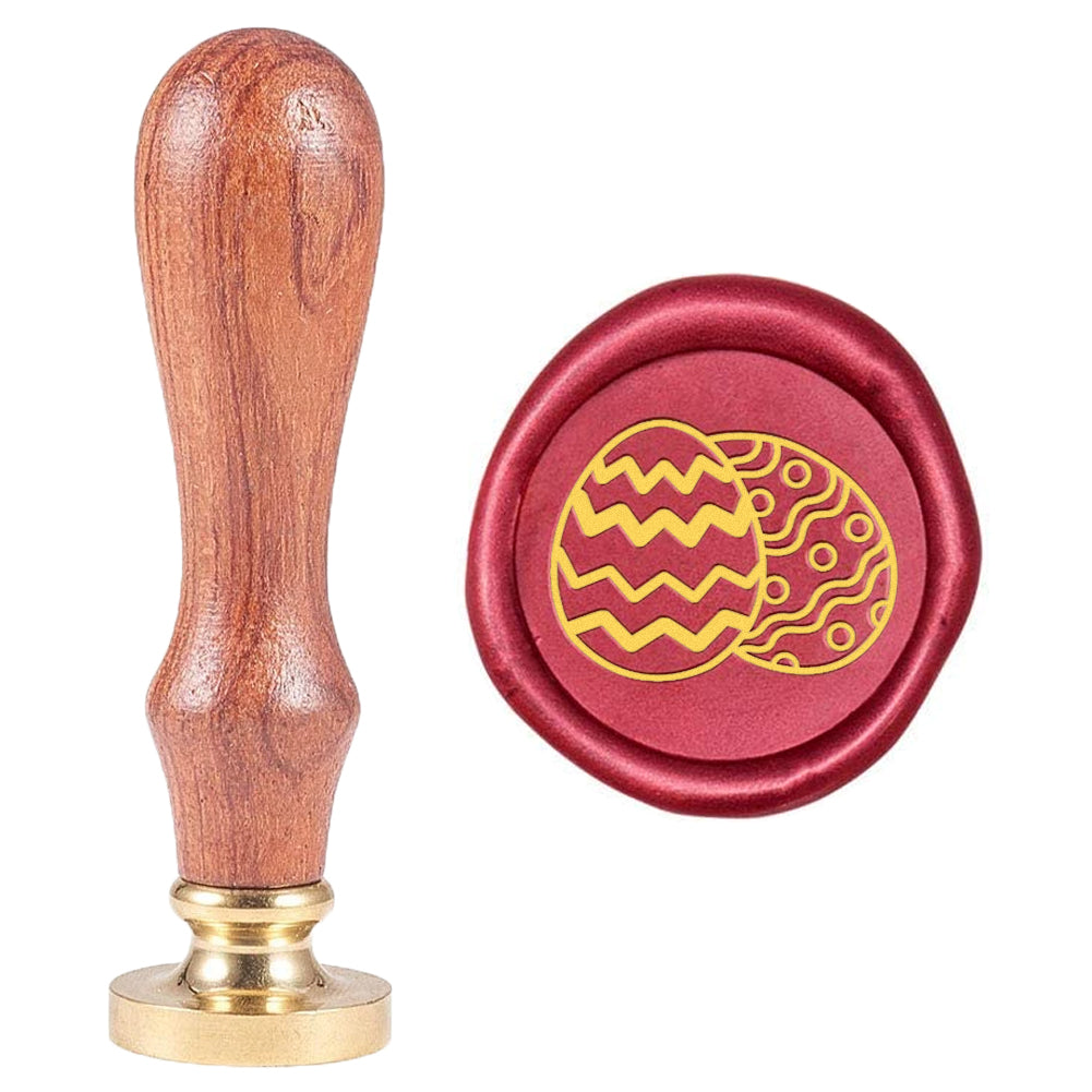 Easter Egg Pattern Wax Seal Stamp