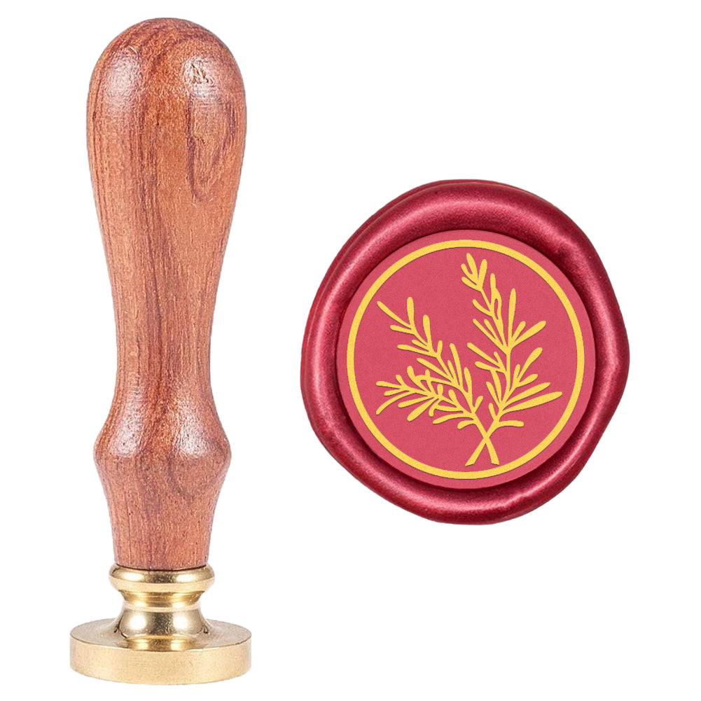 Botanical Twig Wax Seal Stamp