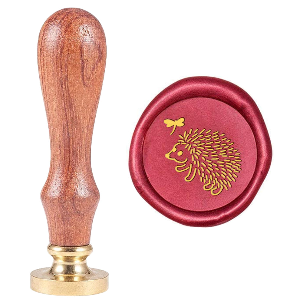 Hedgehog Pattern Wax Seal Stamp