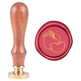Wax Seal Stamp Fruit Peach