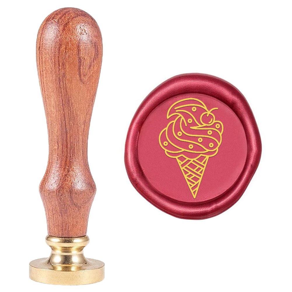 Wax Seal Stamp Ice Cream