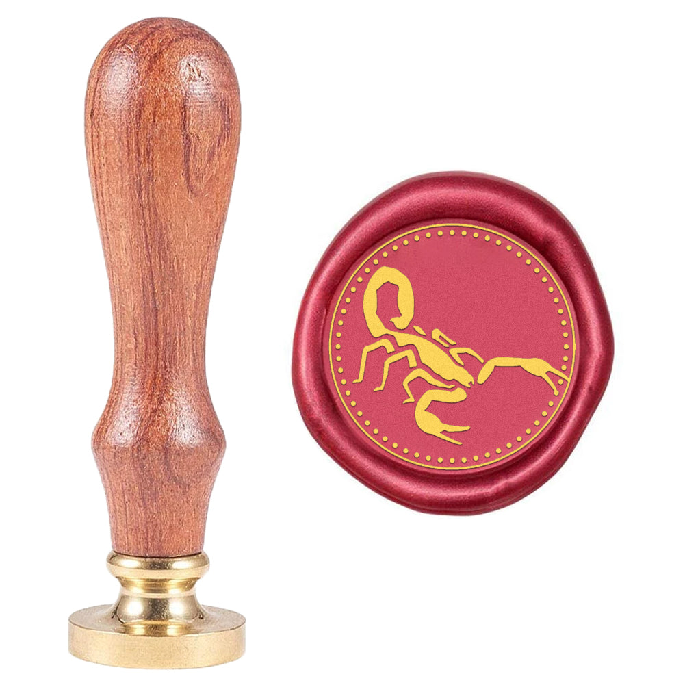 Scorpion Wax Seal Stamp
