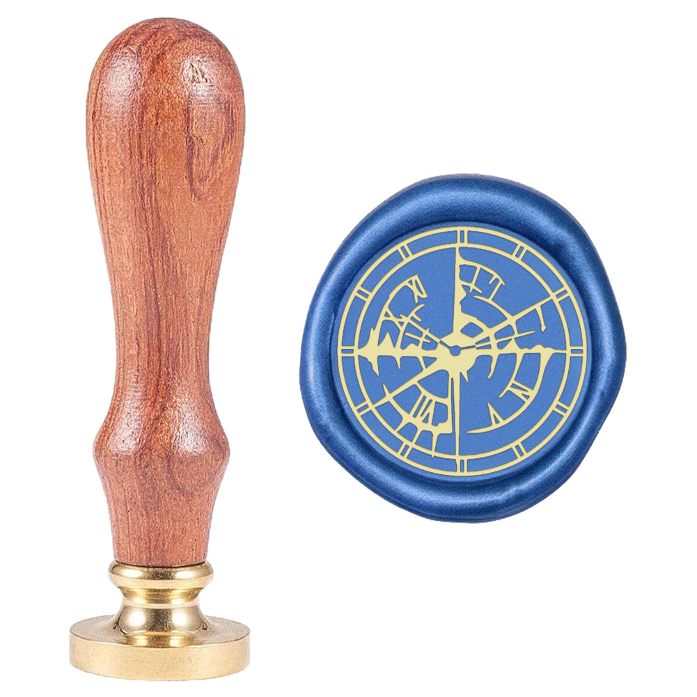 Clock Wax Seal Stamp-1