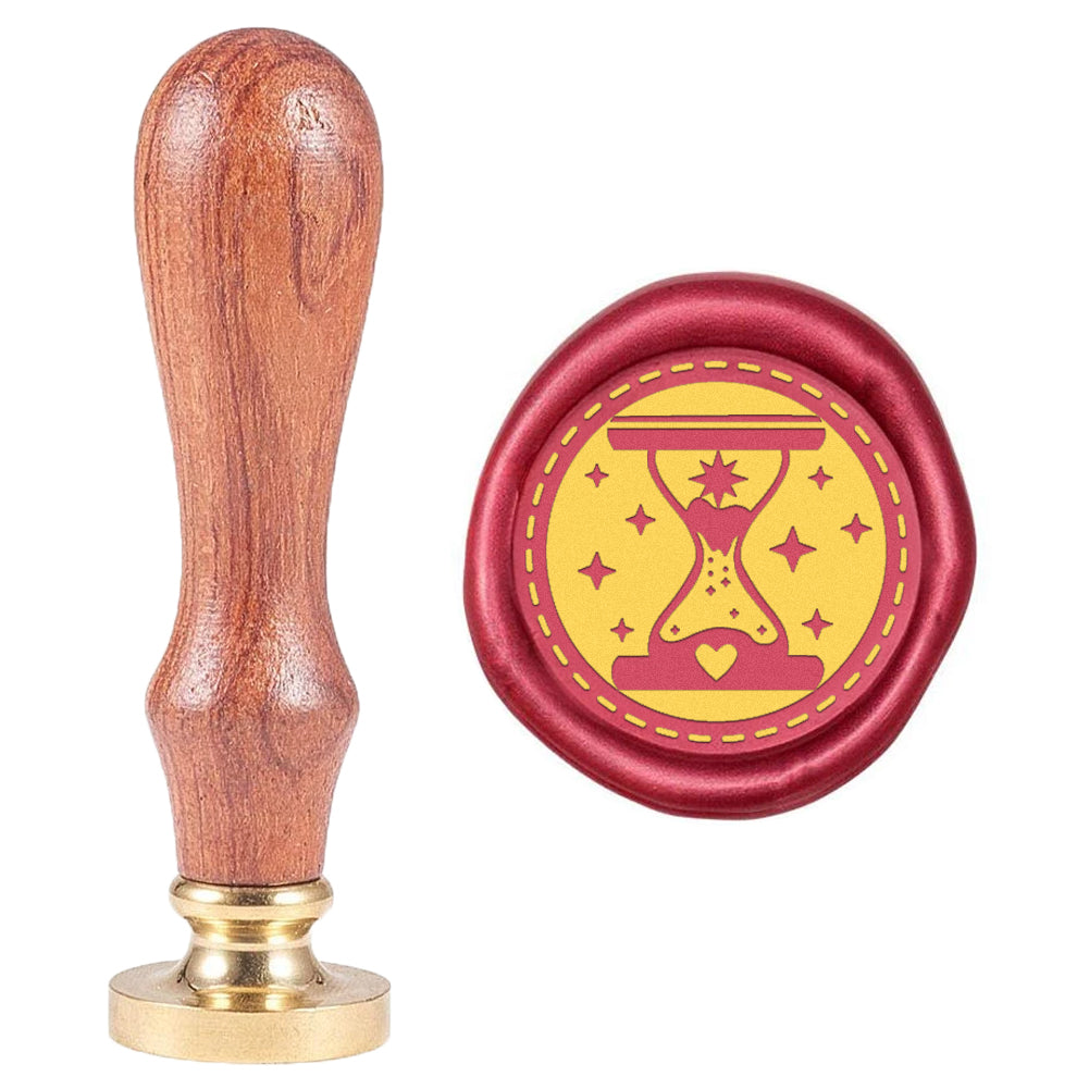 Hourglass Wax Seal Stamp