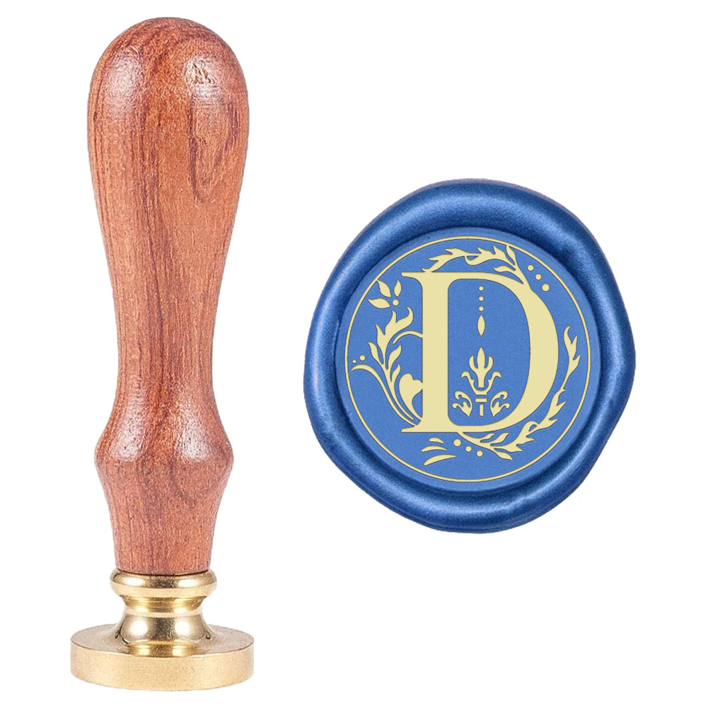 Letter D Wax Seal Stamp