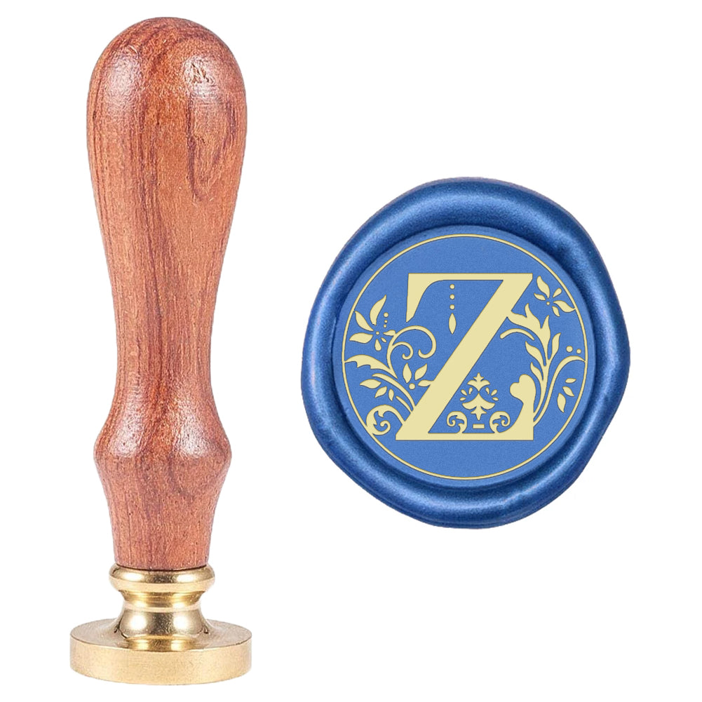 Letter Z Wax Seal Stamp