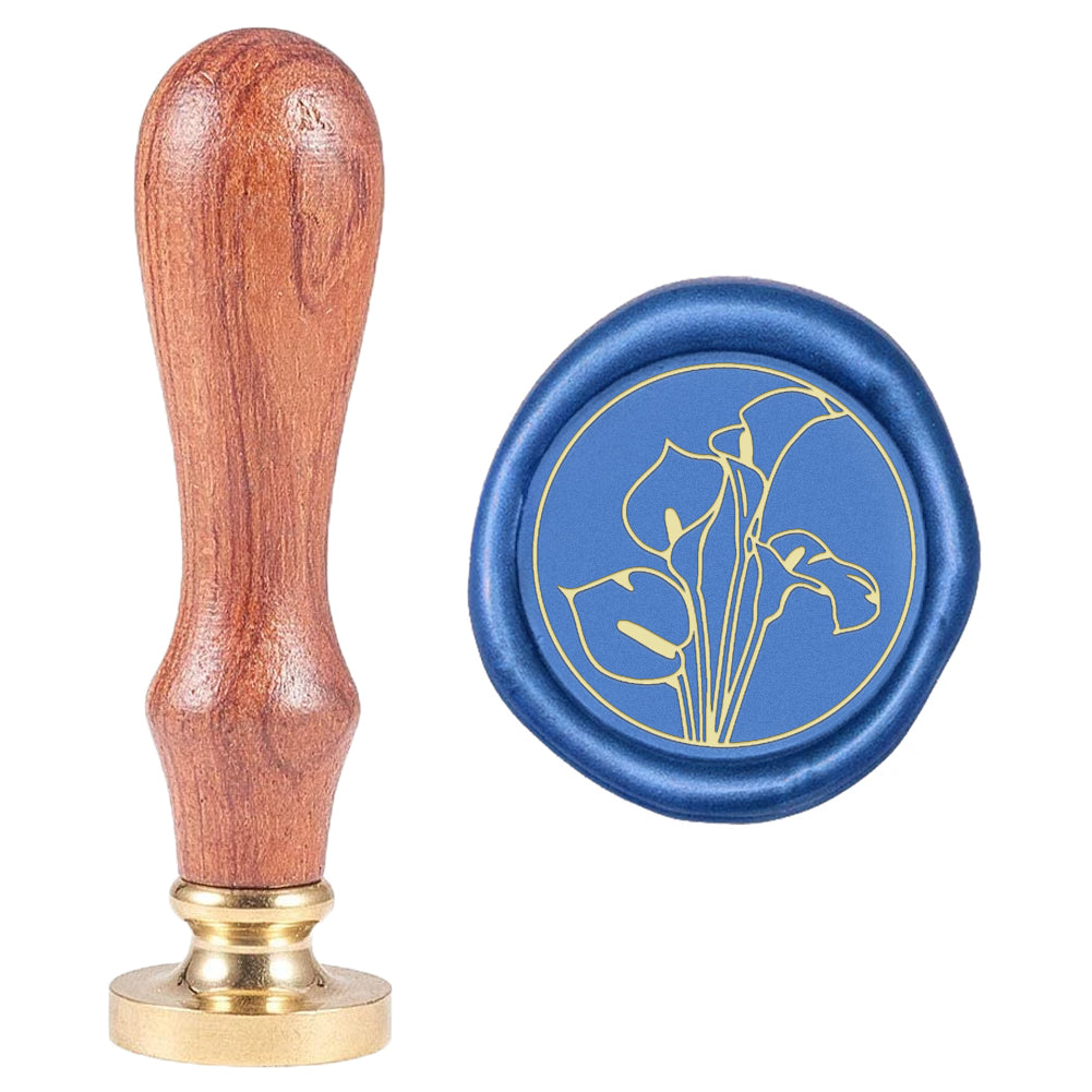Calla lily Wax Seal Stamp
