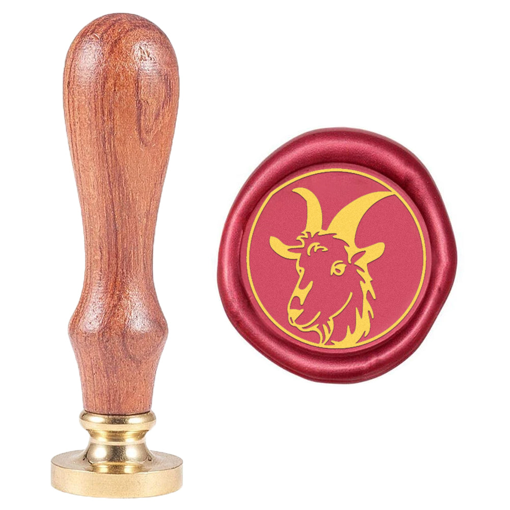 Goat Wax Seal Stamp