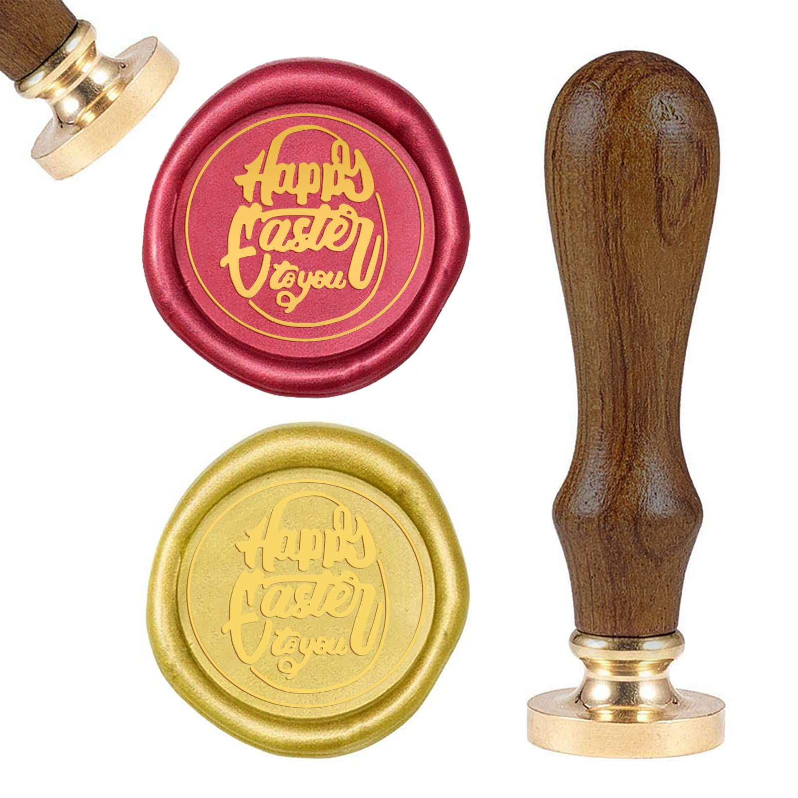 Happy Easter Wax Seal Stamp