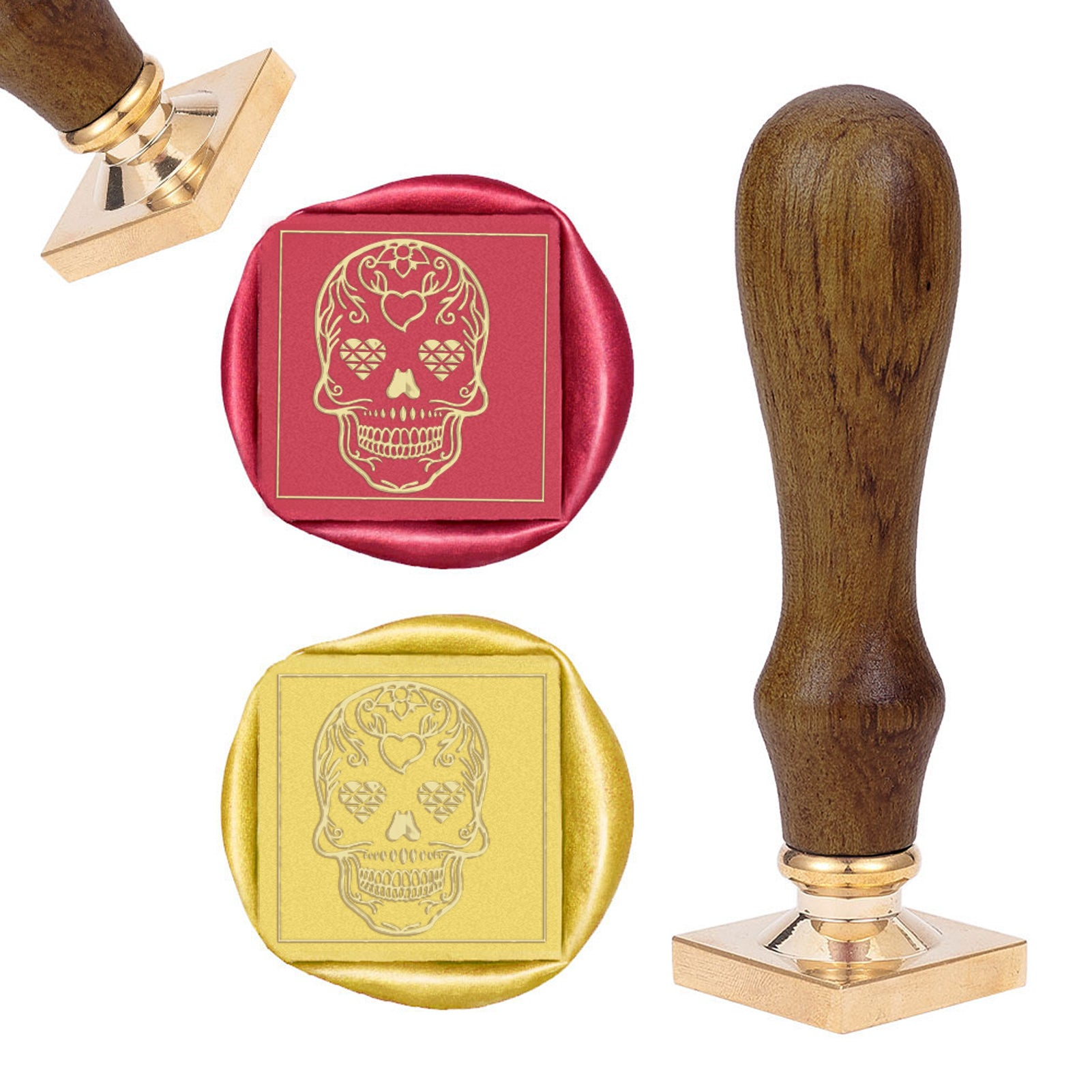 Skull Wax Seal Stamp