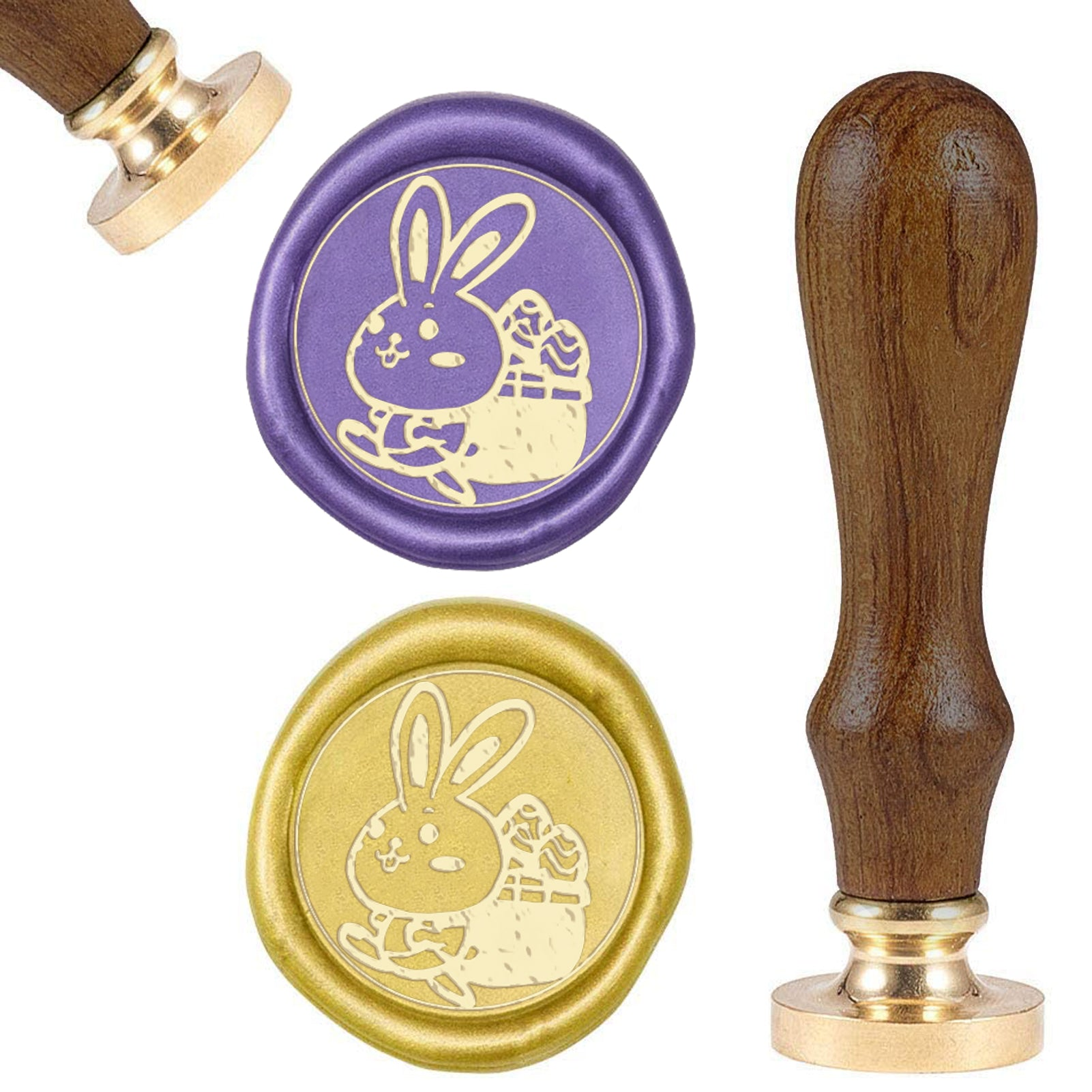 Rabbit Wax Seal Stamp