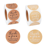1000PCS Self-Adhesives Thank You Sticker Rolls