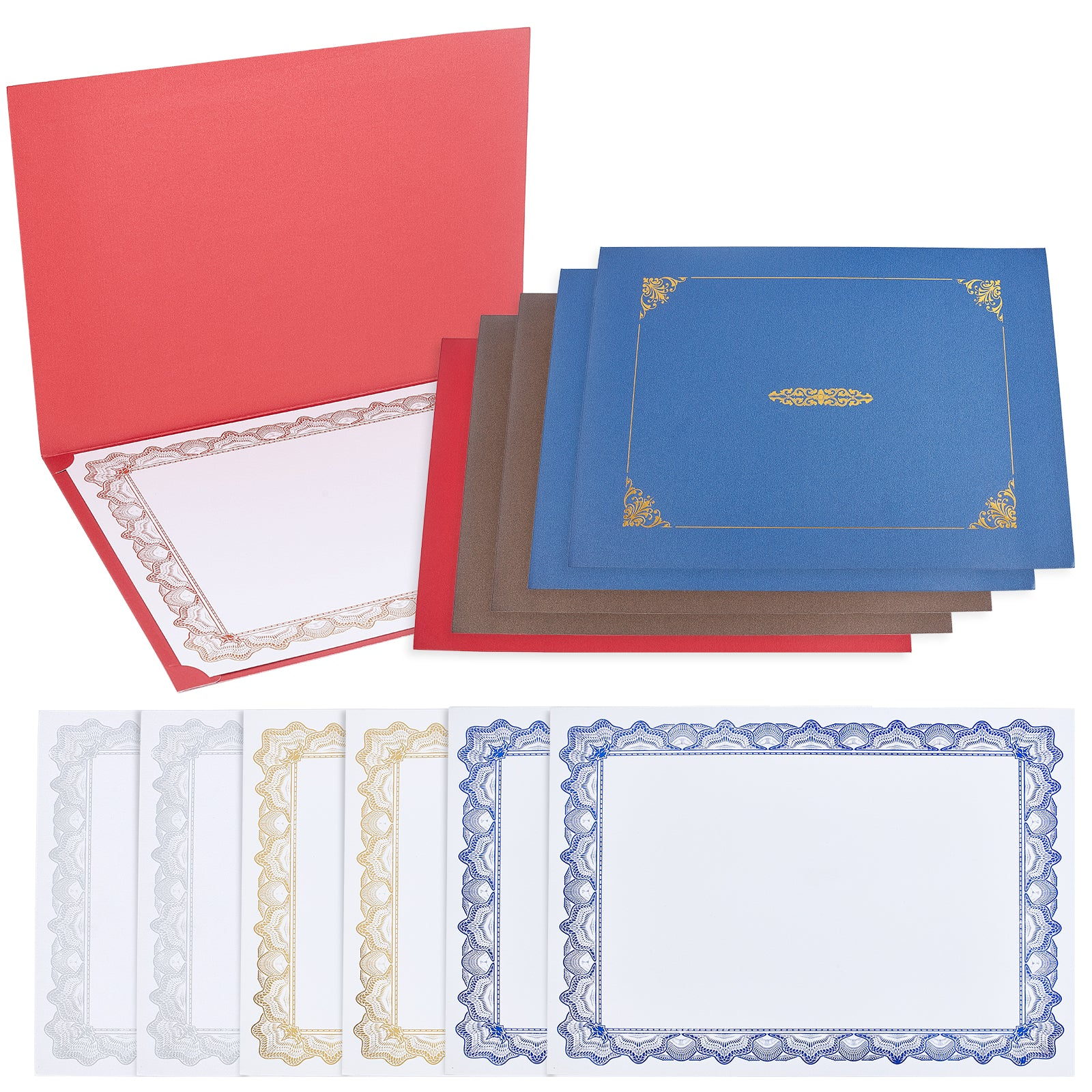 Certificate Papers and Holder Set #1