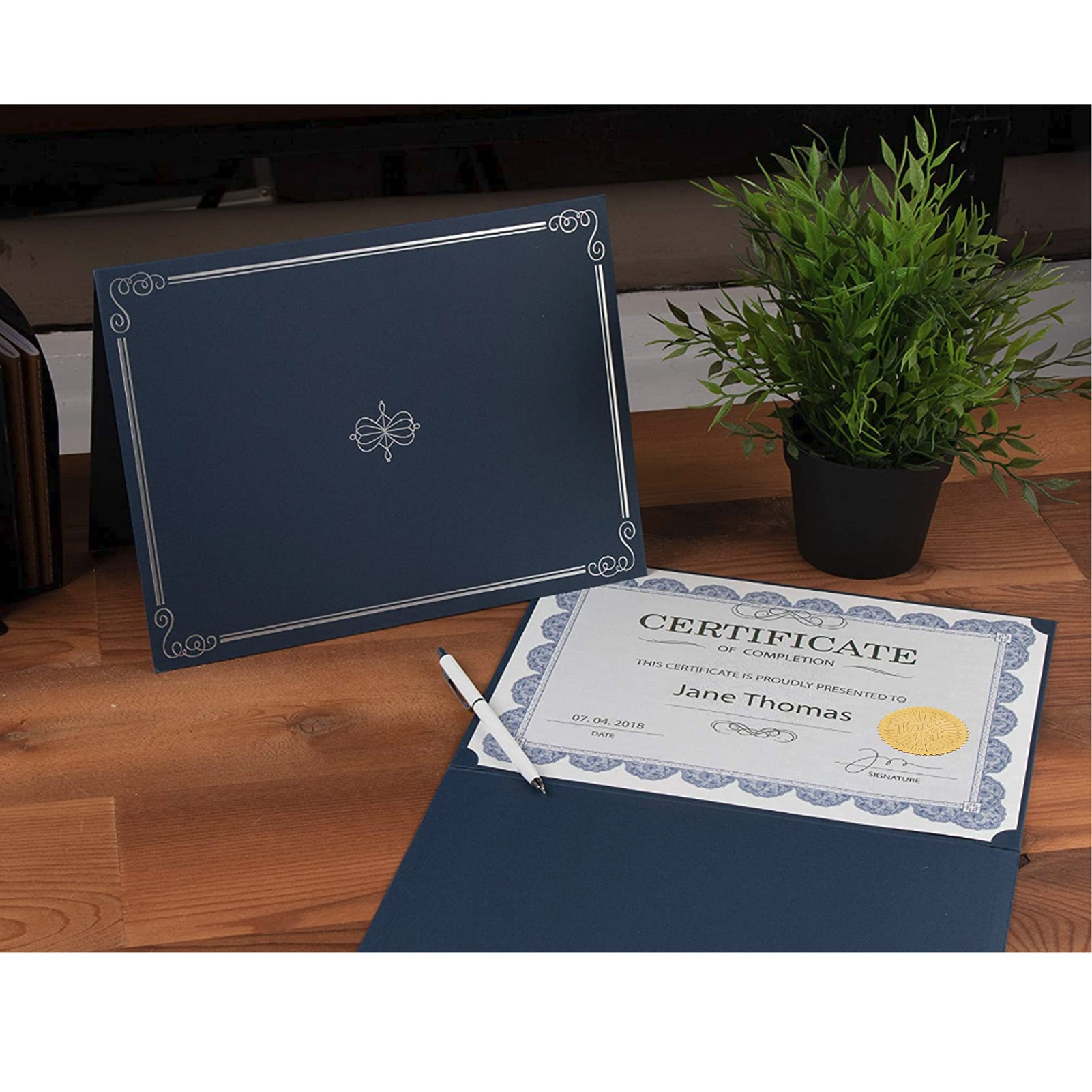 Certificate Papers and Holder Set #3