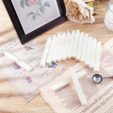 20 Pieces Totem Fire Manuscript Wax Seal Sticks(Ivory White)