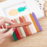 20 Pieces Sealing Wax Sticks with Wicks(Dark Goldenrod)