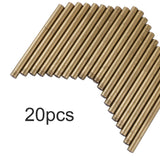20 Pieces Glue Gun Sealing Wax Sticks 11mm(Bronze)